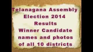 Telangana Constituency Wise MLA's 2014 with photos ( All 119 )