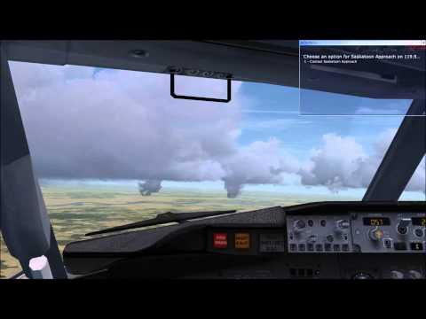 FSX Westjet B737 900 Calgary International CYYC to Saskatoon John G Diefenbaker International CYXE