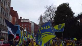 SUPPORTERS ASM  ENVAHISSENT DUBLIN