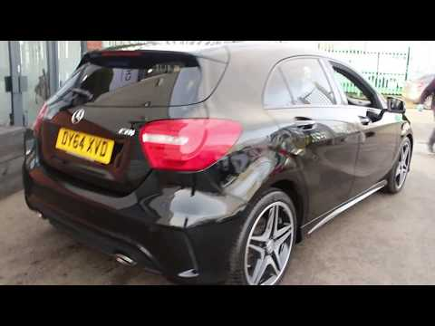 Mercedes A200 CDI AMG SPORT NIGHT PACK Finished In Cosmos At Rix Motor Company