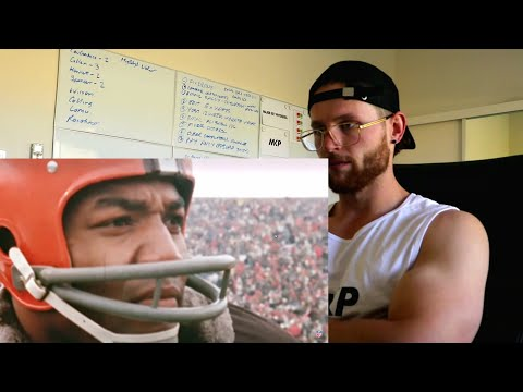 Rugby Player Reacts to JIM BROWN NFL Career Highlights YouTube Video