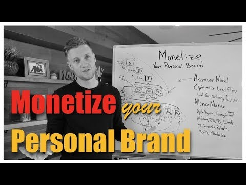 Monetize Your Personal Brand