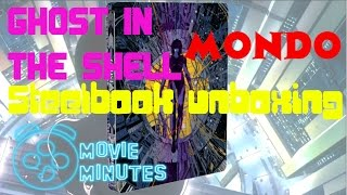 GHOST IN THE SHELL- Gorgeous Mondo Steelbook Unboxing