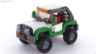 LEGO Creator Adventure Vehicles ALL 3 builds reviewed! set 31037