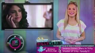 Selena Gomez Fifty Shades of Grey Parody