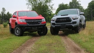 Shootout: 2017 Chevy Colorado ZR2 vs Toyota Tacoma TRD Pro