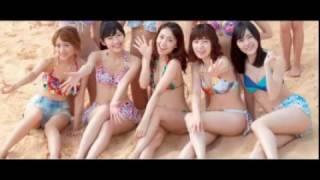 【引用元画像】 00:00:00.00 → ・AKB48 CM 水着・下着編 11本繋ぎました...