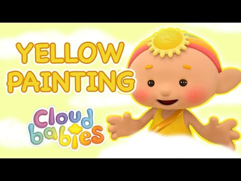 Cloudbabies - Yellow Painting | Full Episode | Cartoons for Kids