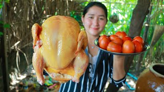Yummy Cooking Chicken Recipe  Cooking With Sros