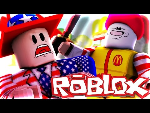 Roblox | RONALD MCDONALD IS CRAZY!!