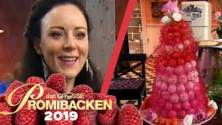 XXL Windbeutel Turm: Jasmins rote Versuchung | Verkostung | Das große Promibacken 2019 | SAT.1