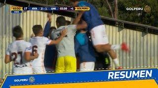 Resumen: Ayacucho FC vs. Universitario de Deportes (4-2)