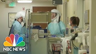 New York Health Care Workers Describe Critical Care Units As 'War Zones'   NBC News