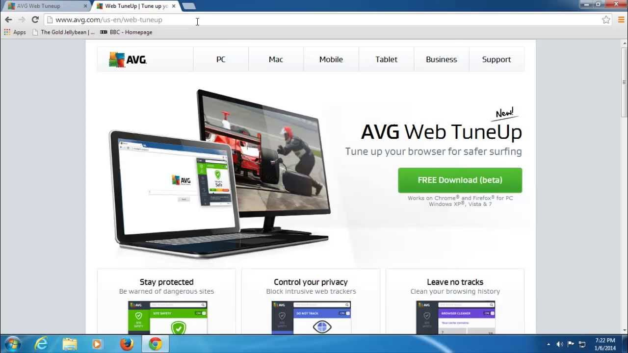avg pc tuneup official site
