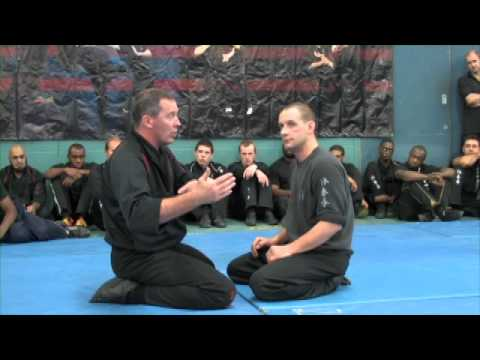 James Sinclair Teaching Wing Chun