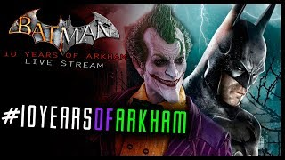 batman arkham asylum 10 years of arkham live
