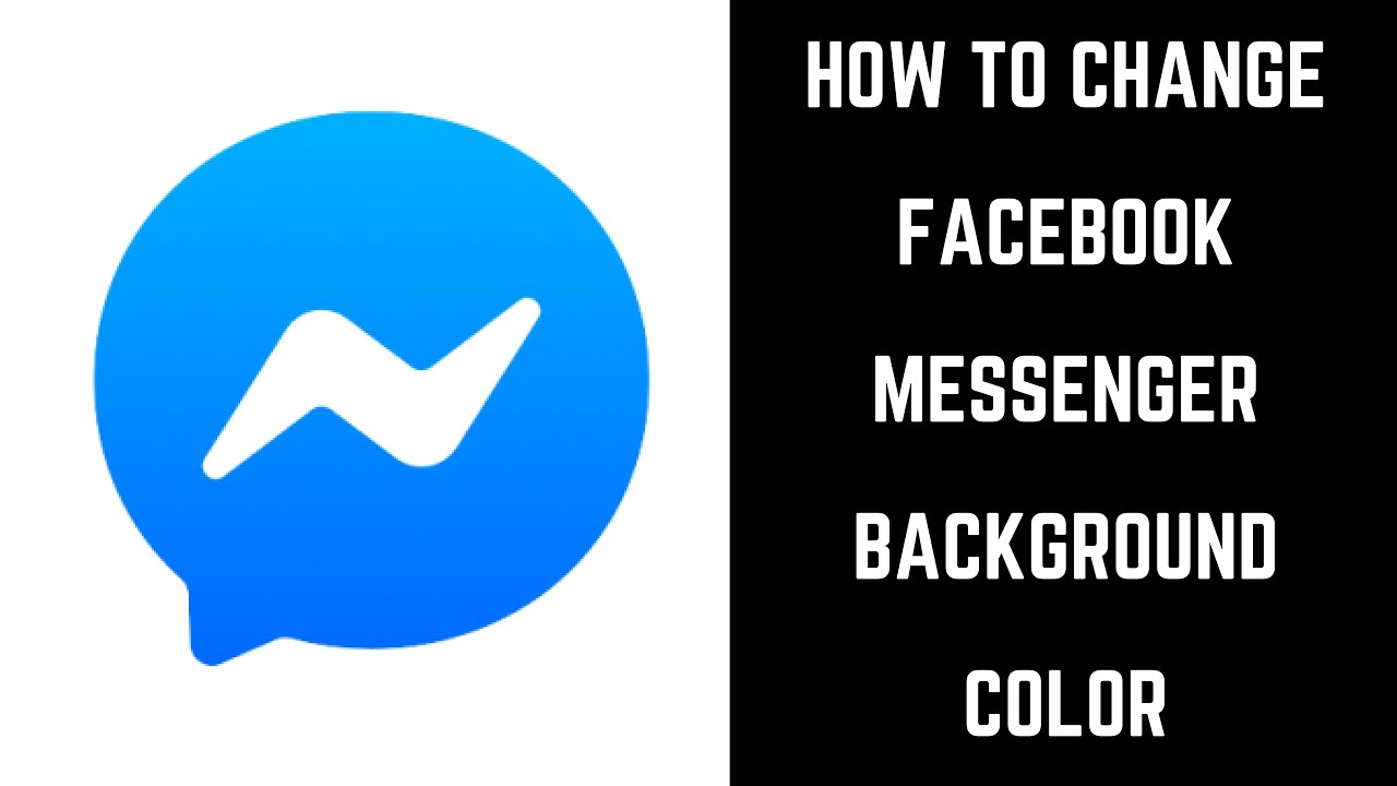 How To Change Facebook Messenger Background Color Youtube