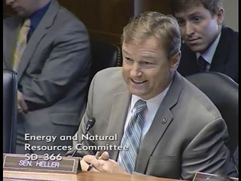 Heller Speaks In Support of Interior Secretary Nominee Sally Jewell
