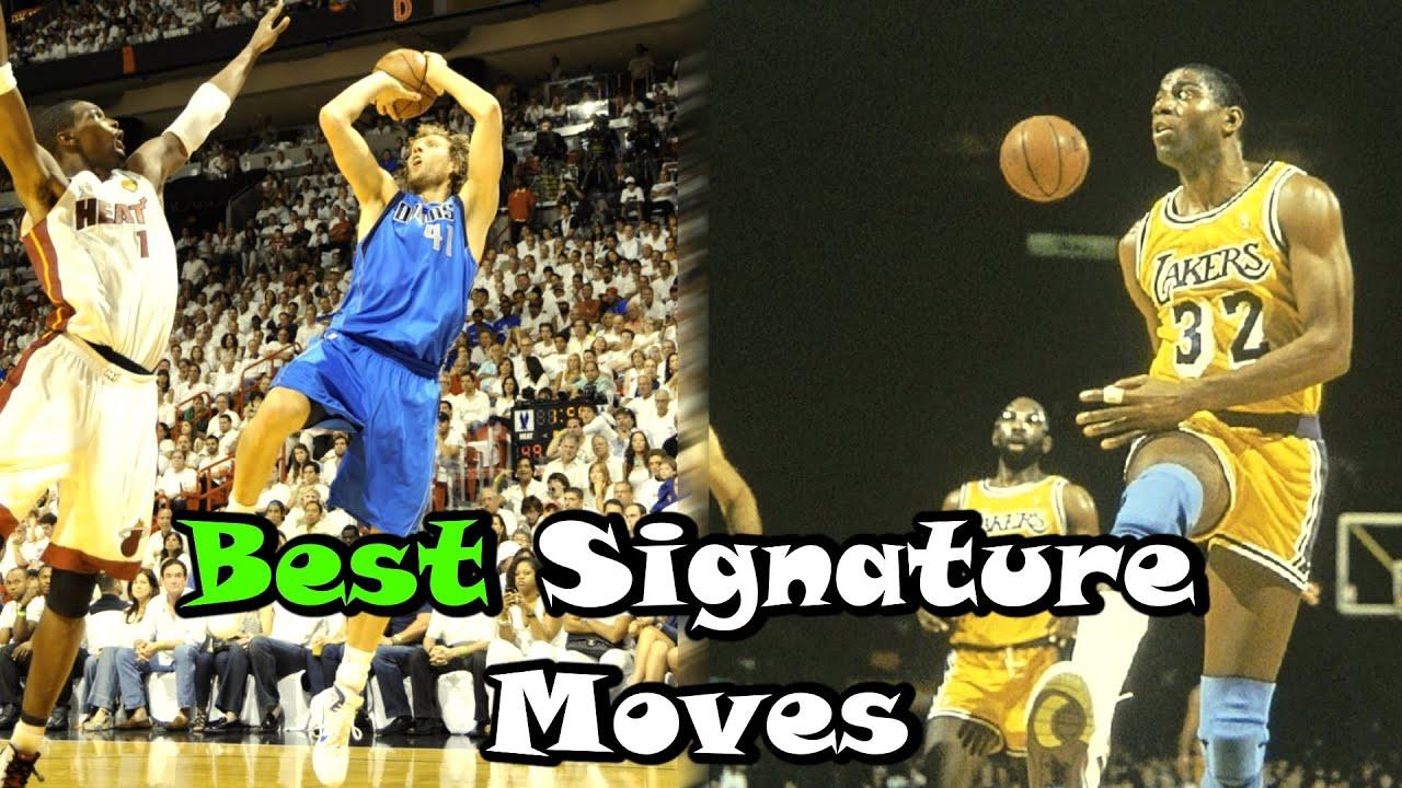 d8de05e7cc4a 10 Greatest Signature Moves In NBA History! - YouTube