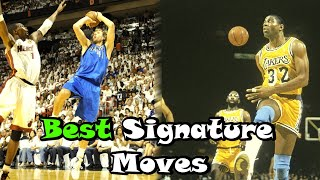 Download 10 Greatest Signature Moves In NBA History! Mp3 and Videos