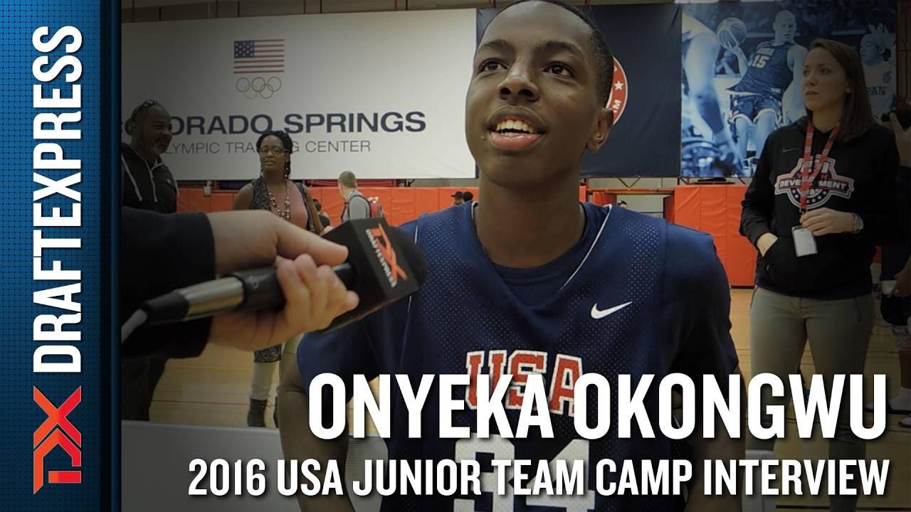 Onyeka Okongwu Interview at USA ...