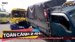 Tai nạn giao thông làm tài xế đứt lìa chân | Toàn cảnh 24h