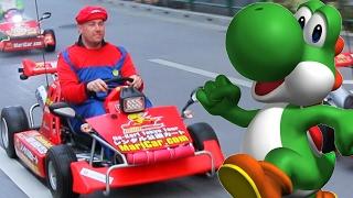 People Play Real Life Mario Kart