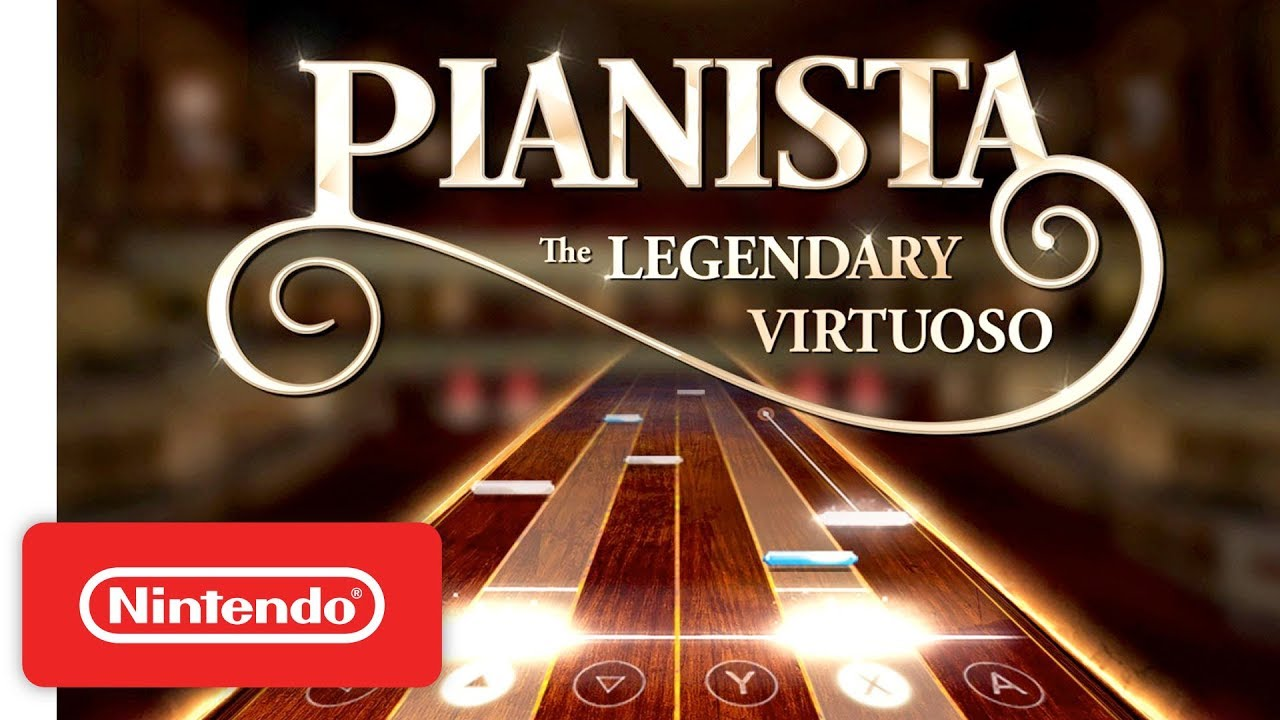 PIANISTA: The Legendary Virtuoso - Launch Trailer - Nintendo Switch