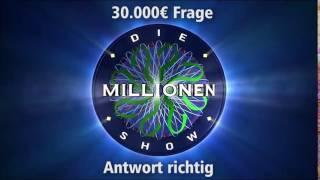 30.000€ Frage - Antwort richtig | Millionenshow Soundeffect