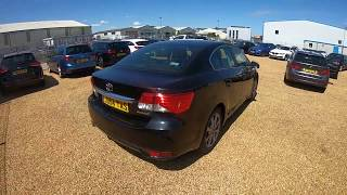TOYOTA AVENSIS D-CAT ICON PLUS for sale in norwich