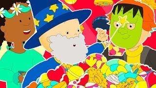 Caillou en Français | Caillou Potter et les Bonbons | dessin animé | dessin animé pour bébé | 2018