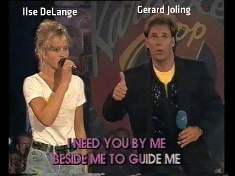 Karaoke op 4 in Deventer - juli 1995 met Gerard Joling en Ilse DeLange