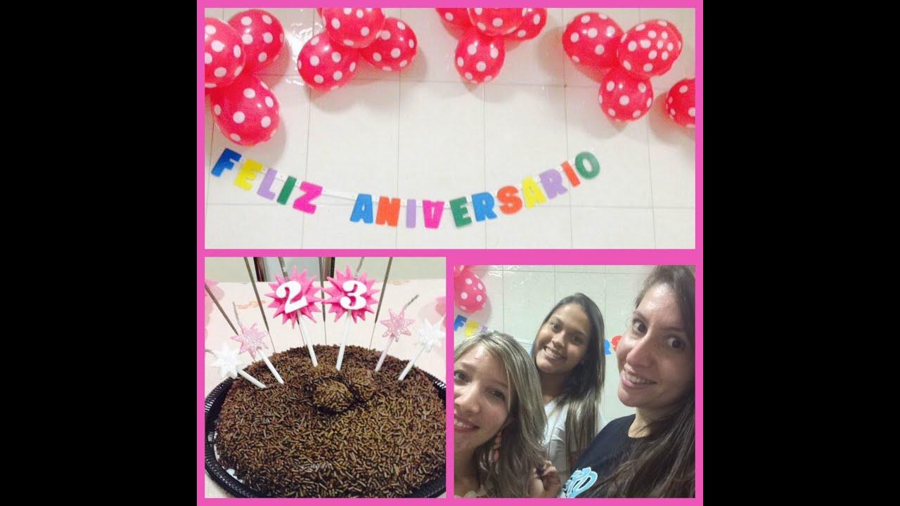 Festa surpresa pra amiga!!  YouTube