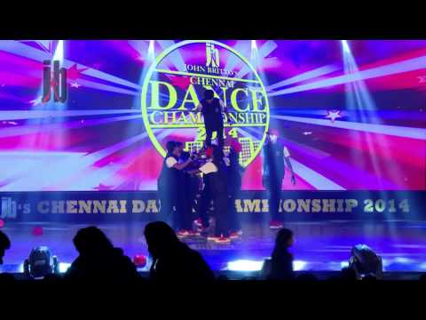 jb's chennai dance championship - 2014- Don Bosco- grand finale
