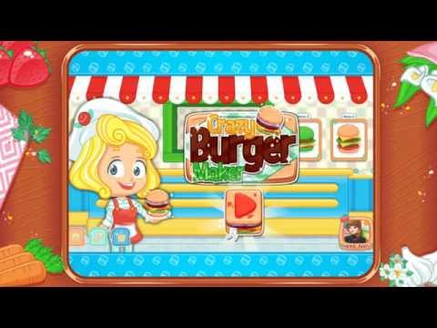 Crazy Burger Maker - Free Food Games, Girl Games, Kids Games Download On Android Google PlayStore