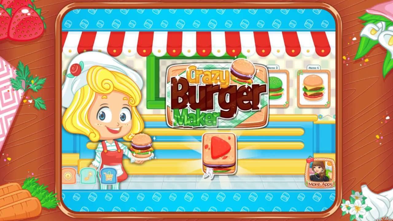 crazy burger maker free