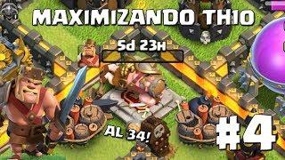 Mejoramos al Rey Bárbaro a Nivel 34!! #4 - MAXIMIZANDO REYES AL 40 TH10 - CLASH OF CLANS