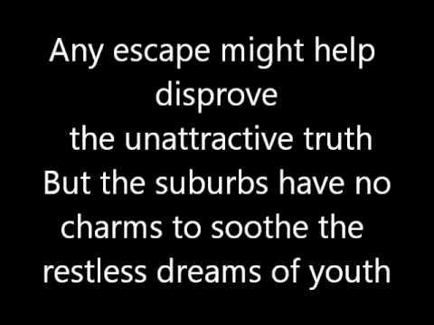 Rush-Subdivisions (Lyrics)