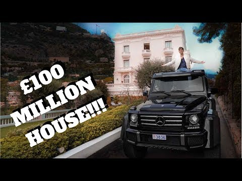 MONACO'S £100 MILLION HIDDEN HOUSE