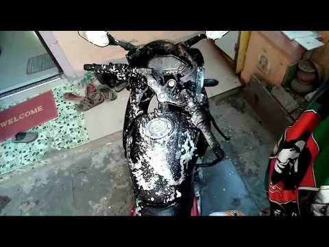 How To Foam Wash Your Bike At Home Using This Simple Apparatus - MHC - Mr. ENTERTAINMENT