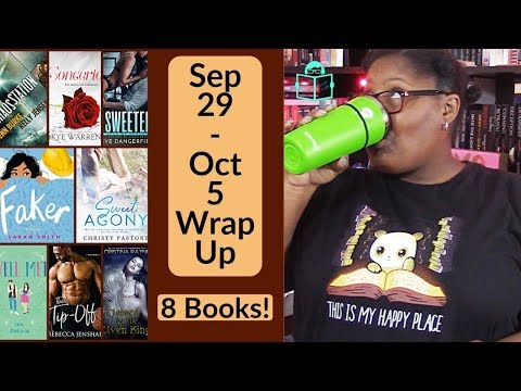 Sep 28 - Oct 5 Wrap Up | Weekly Book Review | 2019 Week 40