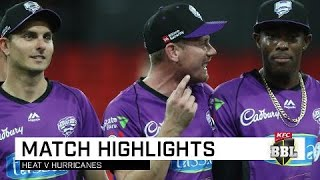 Cane train rolling with win over Heat | KFC BBL|08