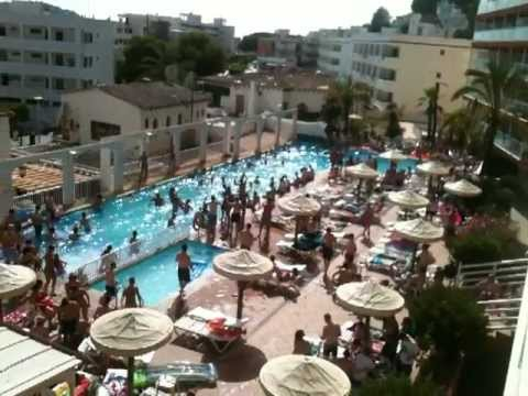 Pool Party @ Deya Apartments Santa Ponsa 2012 - YouTube