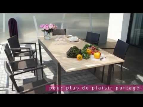 Table & Chaises RiverSide : Le Mobilier de Jardin by ...