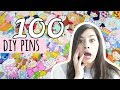 I Made 100 DIY Pins | CHALLENGE