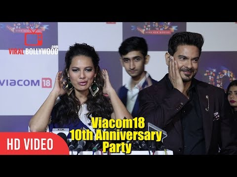 Rochelle Rao And Keith Sequeira Together At At Viacom18 10th Anniversary Party