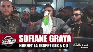 Freestyle de Sofiane, Graya, Hornet la frappe, RK, GLK, Big Nas & Co #PlanèteRap