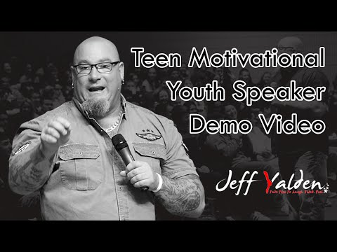 Jeff Yalden – Teen Motivational Youth Speaker Demo Video