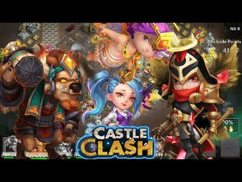 Castle Clash: Minoing The GWs | Mino+Cupid+Mike | Top 5 |