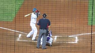 2014.5/14 桃園国際棒球場対義大犀牛(ライノス)戦.